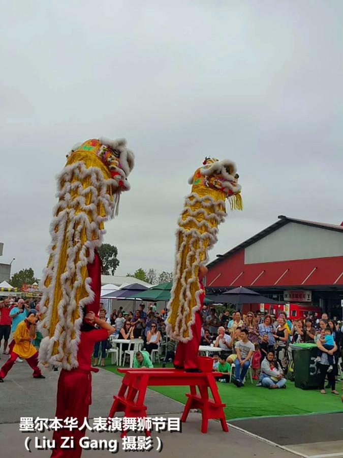 华人艺术团体在表演舞狮节目2.jpg
